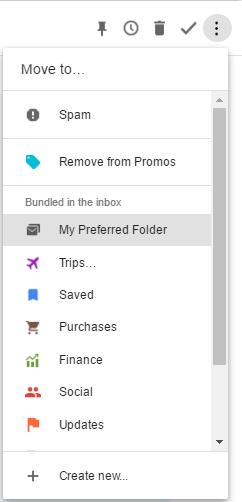 Screenshot of Inbox by Gmail